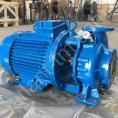 Насос КМ 150-125-250 центробежный, горизонтальный, консольно-моноблочный для воды